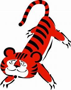 Gambar Harimau Kartun Berwarna Gambar Kartun