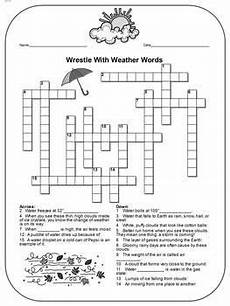 weather spelling worksheets 14679 weather review differentiated crossword with a message weather worksheets weather