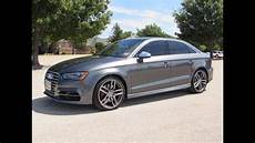 2015 audi s3 2 0t quattro start up test drive and in
