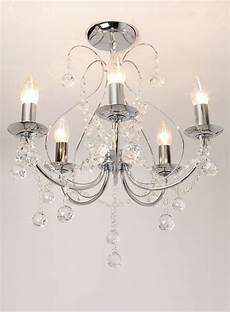 12 collection of flush fitting chandelier