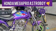 Modifikasi Megapro Herex by Modifikasi Megapro Herex Astro Boy Ungu