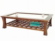 table basse rectangulaire en verre table basse rectangulaire avec plateau en verre jorg 5392