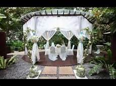 diy outdoor wedding decoration ideas youtube