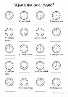 worksheets for elementary 18553 clock worksheet free esl printable worksheets made by teachers