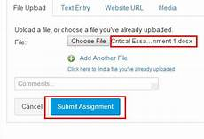uploading assignments in canvas at iu it training tips