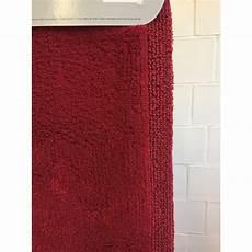 bad teppich badteppich 60x100 cm von nicol rot 46 40