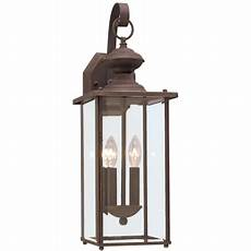 sea gull lighting 8468 71 bronze jamestowne 2 light outdoor lantern wall sconce