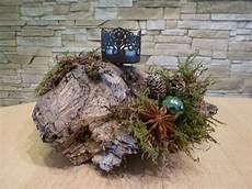 Adventskranz Aus Treibholz - adventsgesteck aus treibholz boarischenatur auf