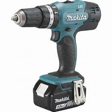 Perceuse 224 Percussion Sans Fil Makita Dhp453sfe 18 V 3 Ah
