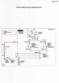1972 ford bronco ignition switch wiring diagram 89 ford bronco i am stumped with the starter solenoid bench tested