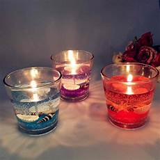 candele gel use gel wax jelly candle in glass candle