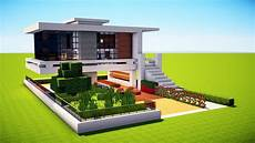 Minecraft How To Build A Modern House Best Mansion 2017