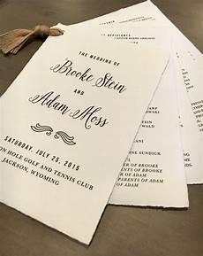 15 unique wedding program ideas for your ceremony traditional paper and unique wedding programs