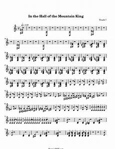in the hall of the mountain king sheet music in the hall of the mountain king score hamienet com