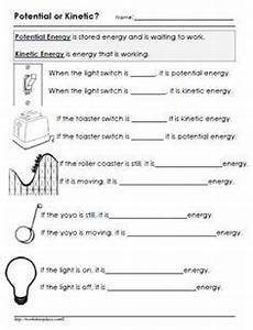 science worksheet energy 12191 potential or kinetic energy worksheet kinetic and potential energy kinetic energy science
