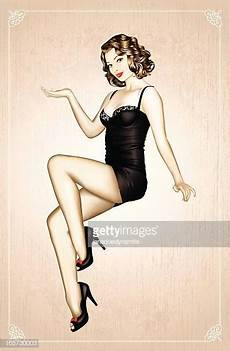 image de pin up pin up stock illustrations and getty images