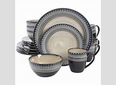 Gibson Elite Magello 16 Piece Dinnerware Set   Plum Street