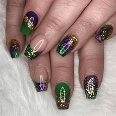 5 amazing mardi gras nail design inspirations in 2020
