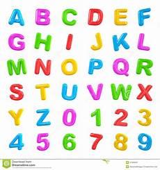Malvorlagen Zahlen Und Buchstaben Multi Farbige Buchstaben Und Zahlen Stock Abbildung