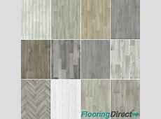 Grey Oak Wood Vinyl Flooring, Grey Lino Plank Style Vinyl