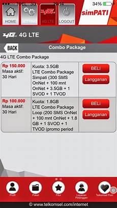 Telkomsel Pulsa Rp 200 cara daftar paket unlimited simpati 4g lte