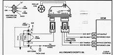 gm ignition module wiring diagram 2001 what you re looking for is a wire w black stripe that goes directly to the module located