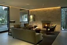 wohnzimmer led beleuchtung eclairage indirect pour mur en en led ruban salon