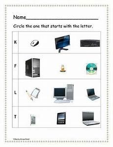 kindergarten computer worksheets computer lab lessons resources pinterest worksheets