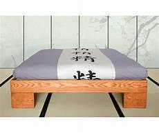 testata futon letto in legno artigianale chan vivere zen
