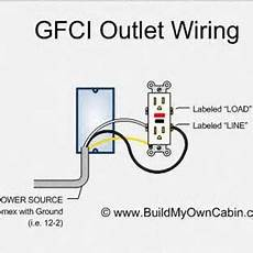 electrical gfci outlet wiring diagram stuffelectricity home electrical wiring outlet wiring