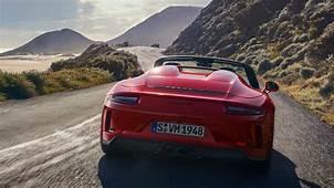 Porsche 911 Speedster UK Specs And Price Of Limited 9912
