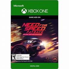 need for speed payback deluxe edition upgrade xbox one