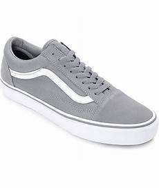 vans skool grey true white skate shoes zumiez