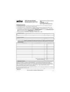 fillable reimbursement claim form humana printable pdf download