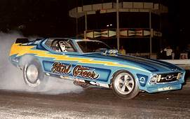Photo Shirl Greer 72 Mustang 5  71 73 Funny Cars
