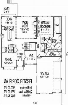 walkout basement house plans one story lovely house plans with basements one story