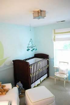 Kinderzimmer Streichen Blau - blue nursery paint colors transitional nursery