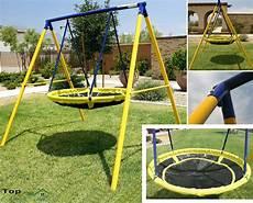 kid swing set playground swing set toddler outdoor backyard ufo