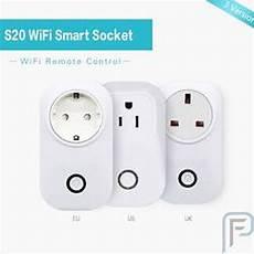 Standard Smart Wifi Socket Power by Sonoff 174 S20 10a 2200w Wifi Wireless Remote Socket