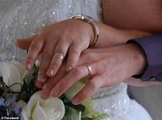 is slammed by social media users after posing with a wedding ring small for