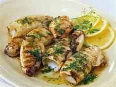 grilled squid recipe eatsmarter
