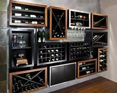 mobili per bottiglie di parete attrezzata per il bar ideas mancave nel 2019
