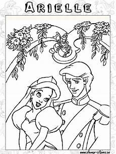 Malvorlagen Arielle Text Disney Clipart Bilder Arielle