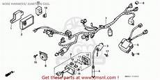 honda nx650 dominator 1991 m sweden wire harness ignition coil schematic partsfiche