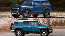 2021 ford bronco what it can learn from the toyota fj