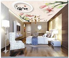 flower wallpaper ceiling aliexpress buy customized 3d ceiling murals