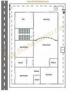vastu plan for west facing house west facing vastu house plan west facing house house