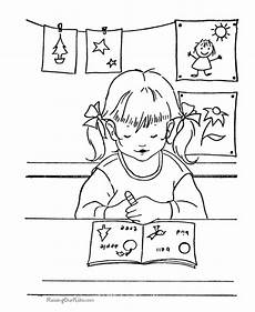 places in the school coloring pages 18035 school coloring page 005