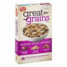 great grains breakfast cereal raisins dates pecans 16 oz walmart com walmart com
