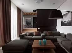 Wohnzimmer Graue - wohnzimmer in grau und schwarz gestalten 50 wohnideen